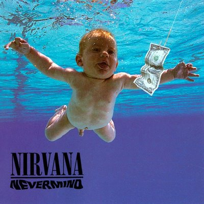 Nirvana Nevermind Front