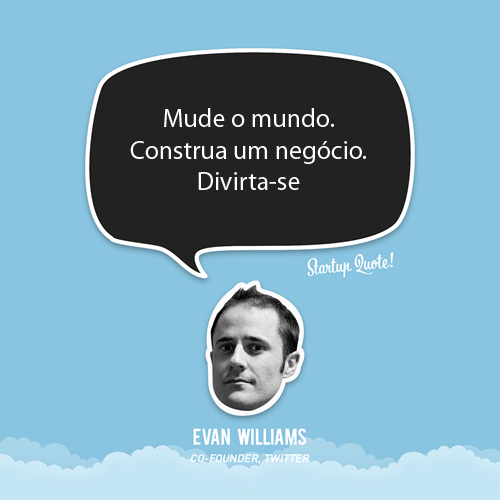 Evan Willians, Twitte no Jornal do Empreendedor