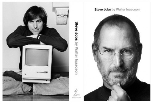 steve jobs cover biography
