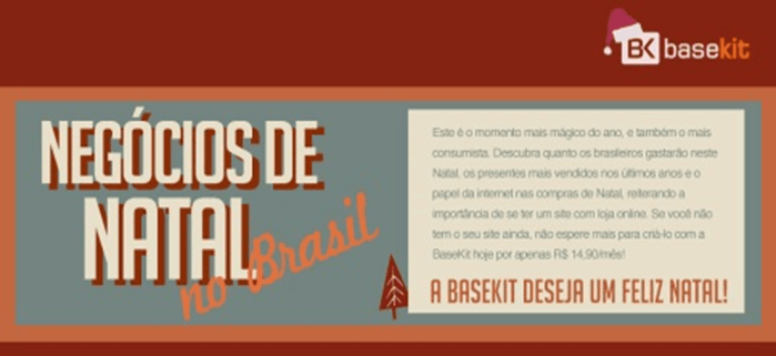 Negócios de Natal no Brasil
