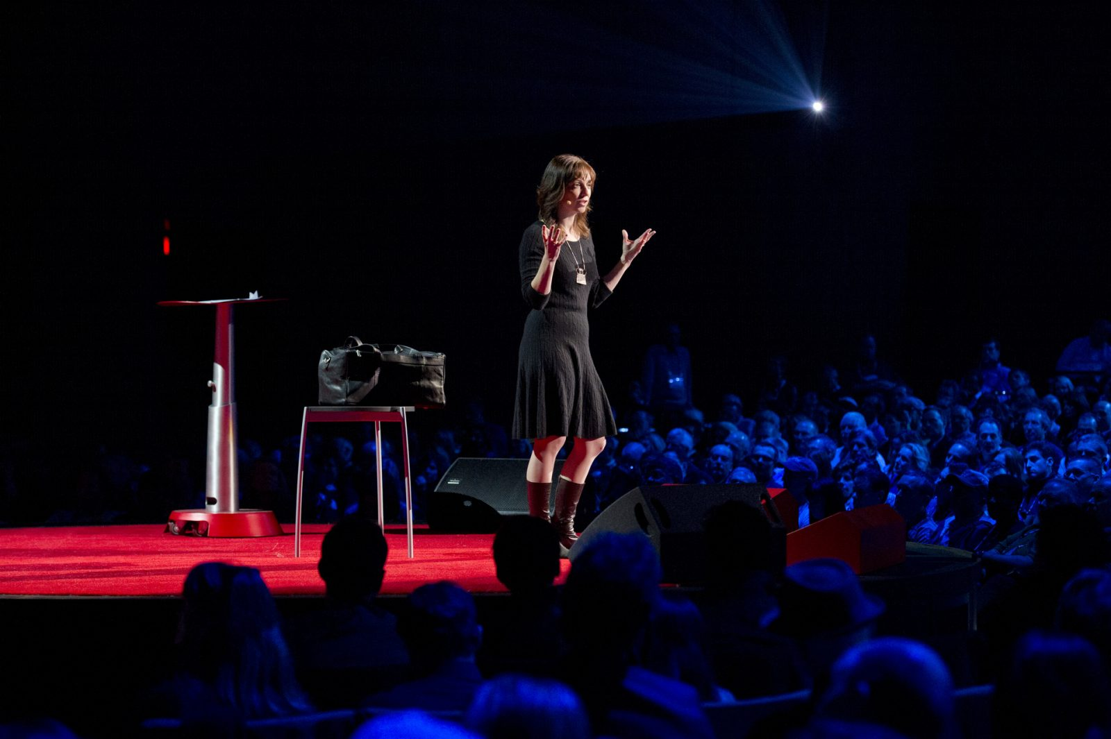 TEDTalksqueirãomudarasuavida