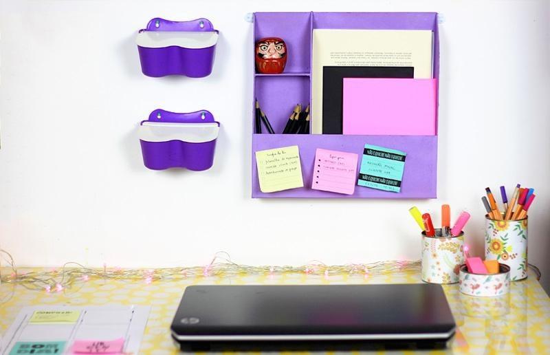 Faça você mesmo da HP: organizador de parede para seu escritório